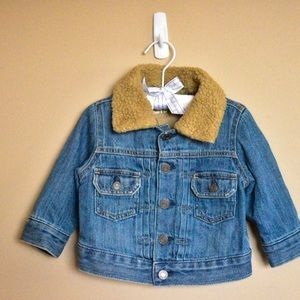 Jeans baby jacket